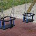 """Ljuljačka  """"Pepeljuga"""" sa dvije  sigurnosne sjedalice"""