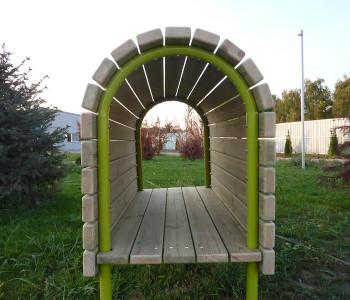 Tunel polukružni - provlačilica