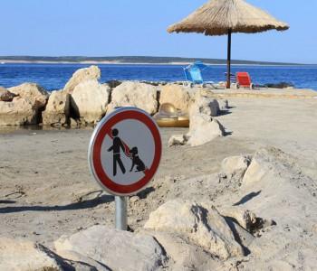 Znak zabrane za pse